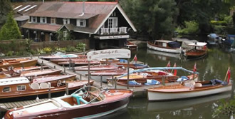 The Freebody boatyard at Hurley